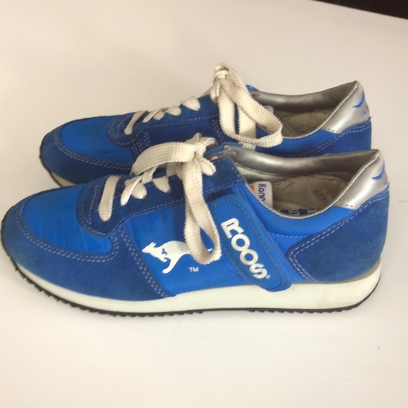 ROOS Shoes - ROOS Sneakers Cobalt Blue Vintage
